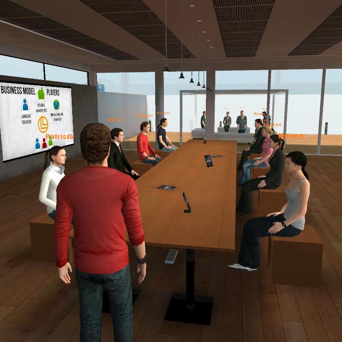 sala de reuniones virtuales