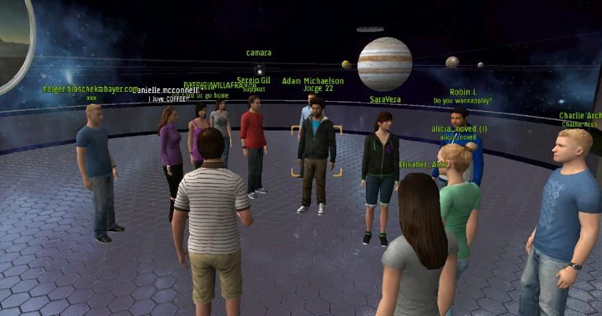 virtual solar system 3
