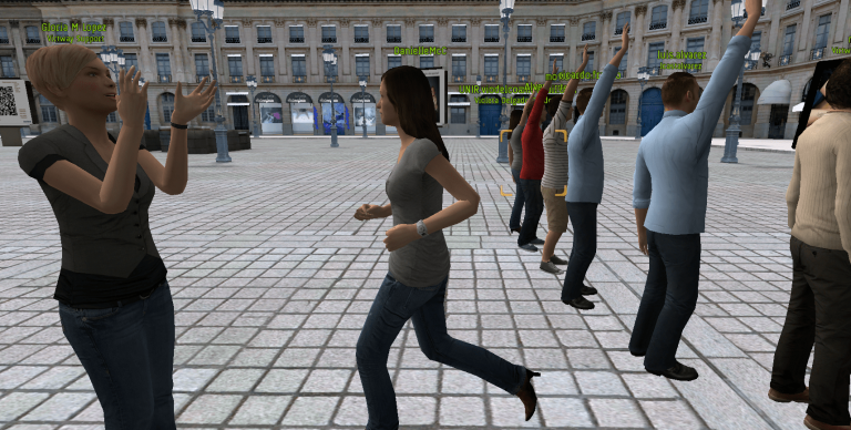 The Interactive Virtual Avatar