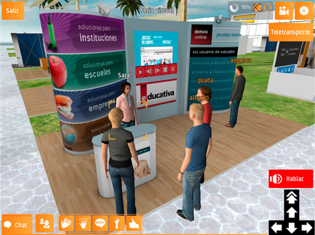 Expolearning-virtway-stands