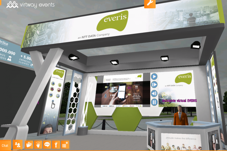 everis virtual stand