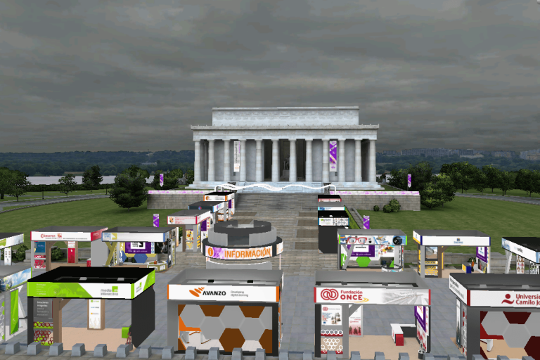 virtual worlds for event organizers
