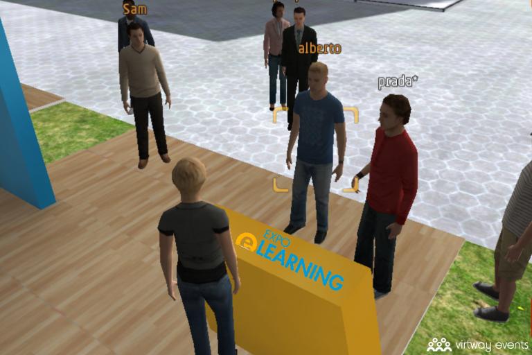 virtual fair stand