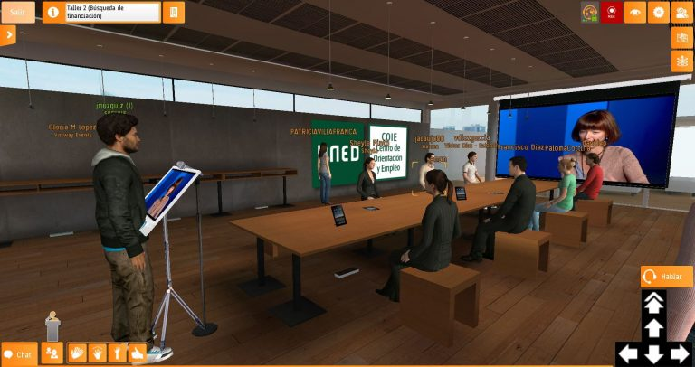 virtual worlds for universities