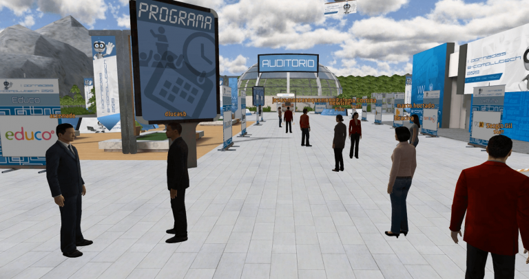 Virtual Worlds for Event Planners