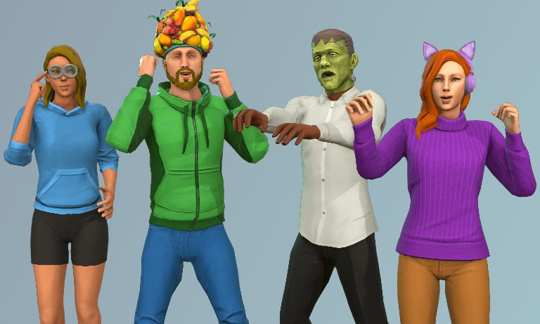 avatares 3d gamificacion